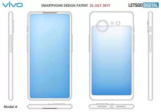 Vivo regista patente para dois novos designs, de telefones com ecrã duplo 1