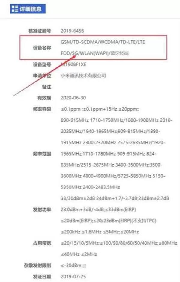 Telefone Xiaomi M1908F1XE 5G
