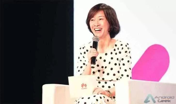 Catherine Chen, membro do conselho da Huawei e vice-presidente sênior