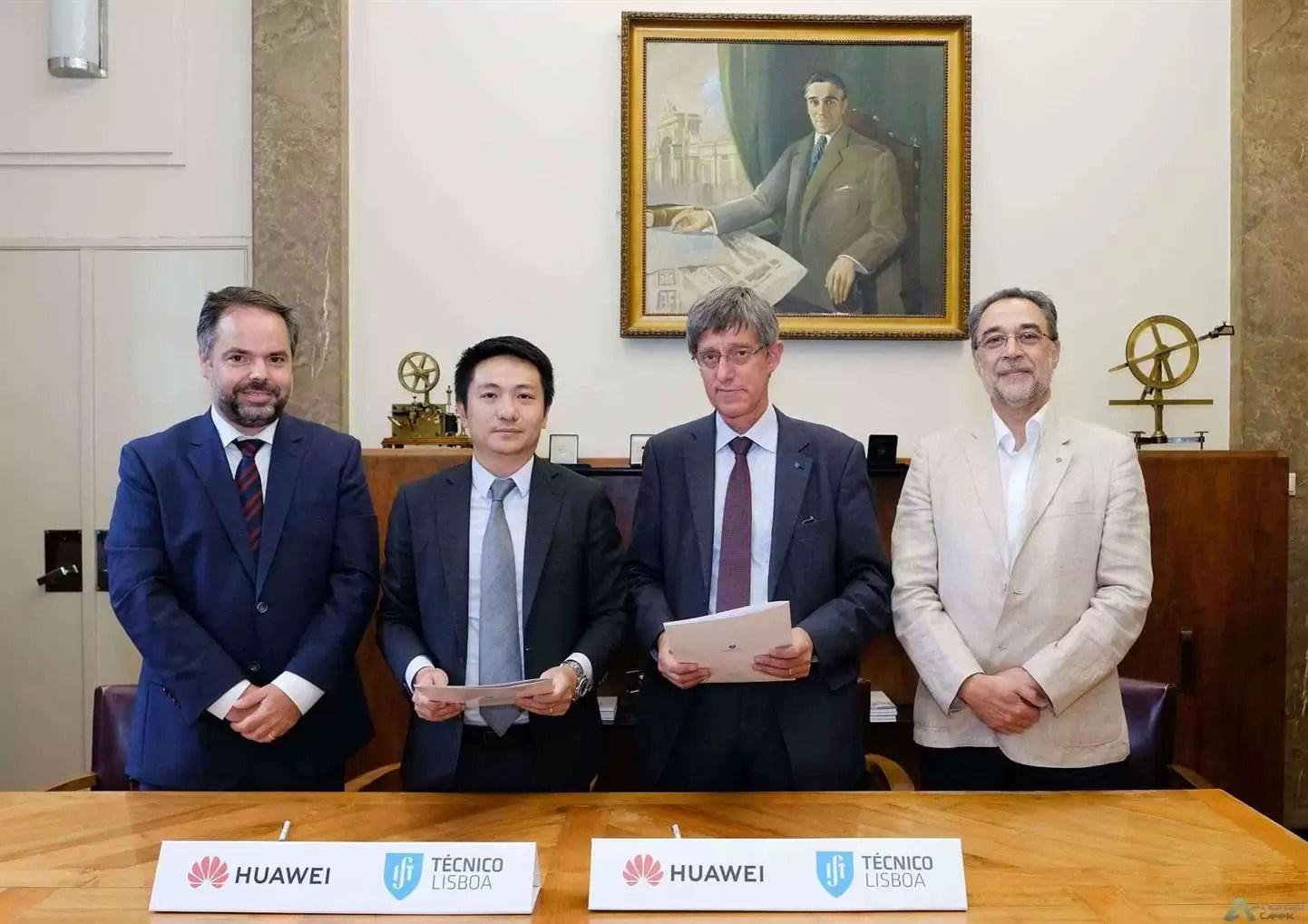 Huawei assina parceria com Instituto Superior Técnico para apoiar a formação de engenheiros de telecomunicações 2