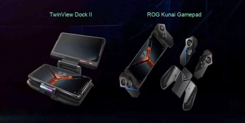 ASUS ROG Phone 2 Oficial, ecrã de 120Hz, Snapdragon 855+ e bateria de 6000mAh 1