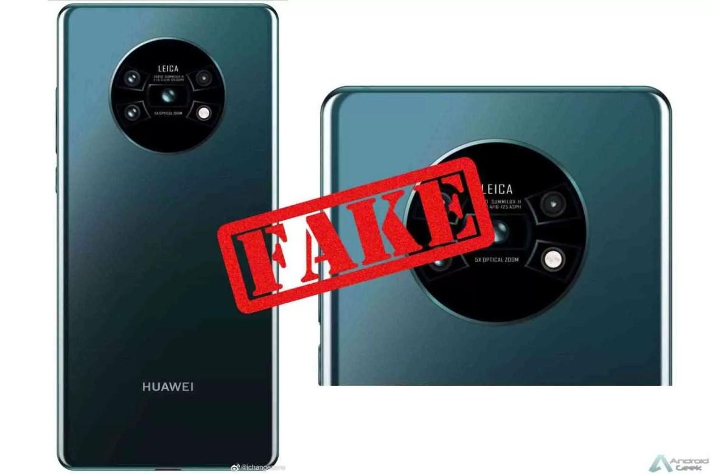 Huawei Mate 30 Pro terá de certeza configuração de câmara quadrada, com sensores atualizados 3