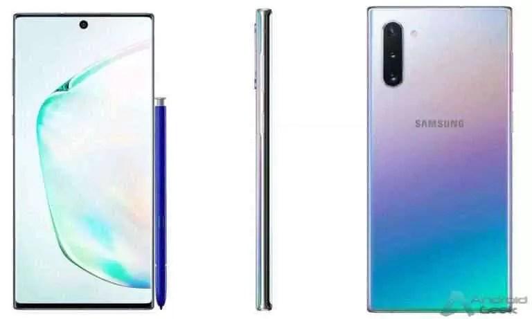 Samsung Galaxy Note 10. Ecrã, câmaras e preço de venda confirmados 3