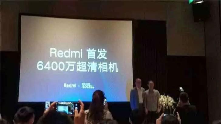 Xiaomi falou sobre o próximo telefone Redmi de 64MP 1