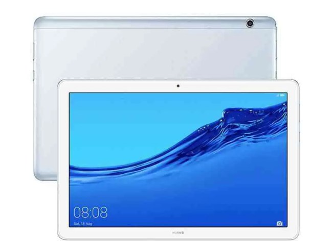 Huawei MediaPad T5 Mist Blue em destaque