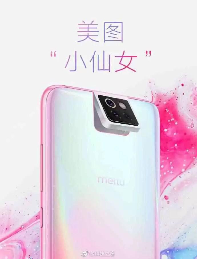 Meitu Xiaomi Little Fairy telefone