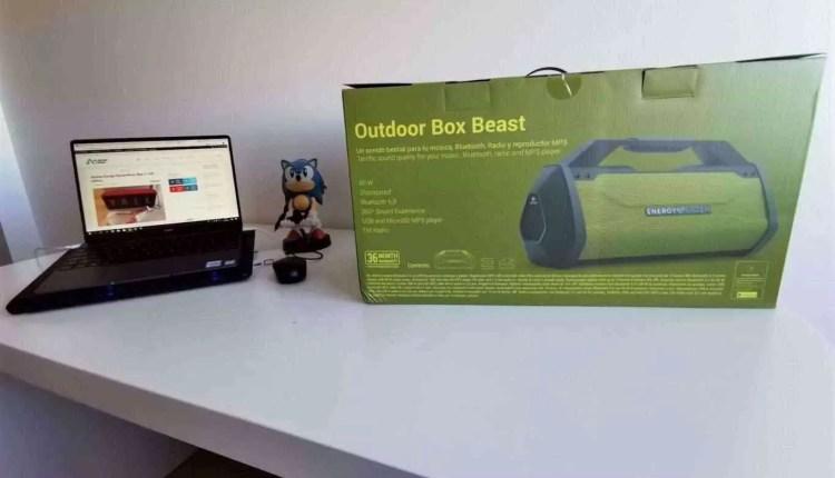 Análise Energy Sistem Outdoor Box Beast - Uma verdadeira Besta de coluna portátil 1