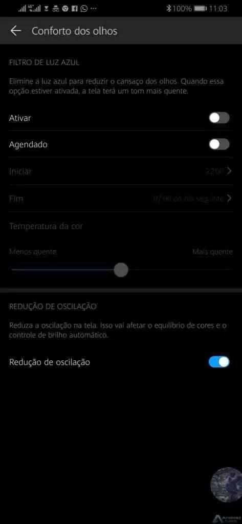 Huawei Mate 20 Pro recebe nova atualização que traz escurecimento DC 2