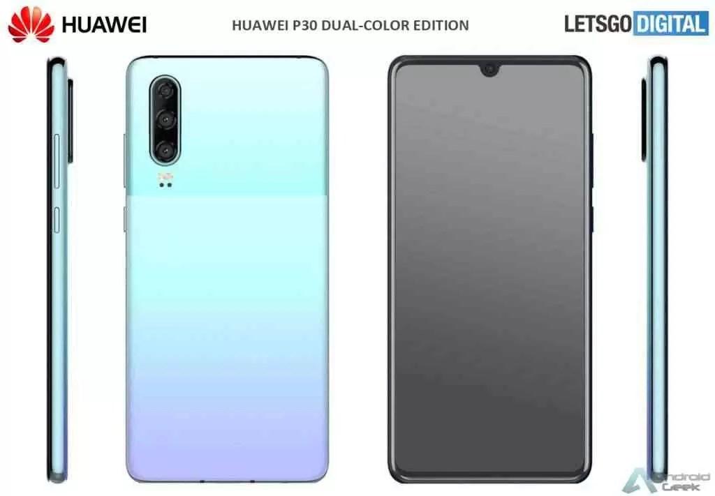 O Huawei P30 Pro também vai receber duas novas cores - Misty Lavender e Mystic Blue 1