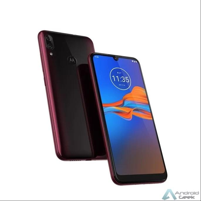 Imagens de imprensa do Motorola Moto E6 Plus surgem online 3
