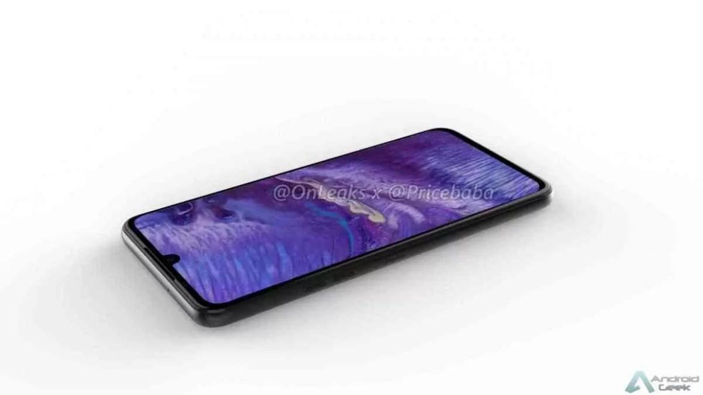 Imagens LG G8X mostram um ecrã maior com um entalhe menor, jack de 3,5 mm 1
