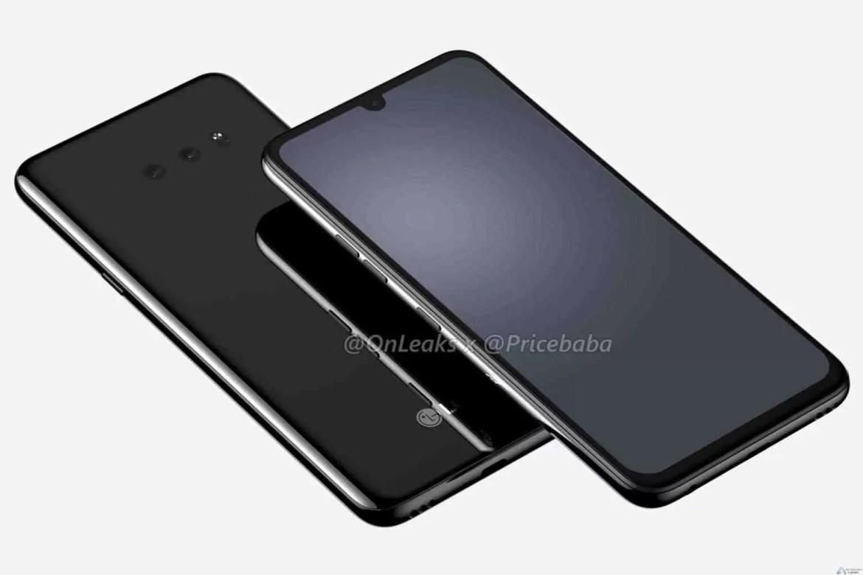 LG G8X ThinQ surge em fuga de informação mostra entalhe menor, duas câmaras traseiras 1