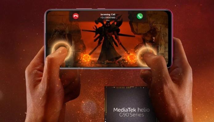 MediaTek revela série de CPU focada em jogos Helio G90 1