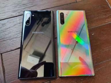 Galaxy Note 10 e Note10 Plus