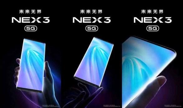 Processador de exibição Vivo NEX 3 5G