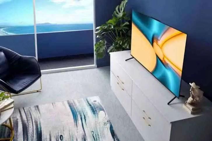 A TV inteligente Honor Vision agora é oficial e o primeiro dispositivo a executar o Harmony OS