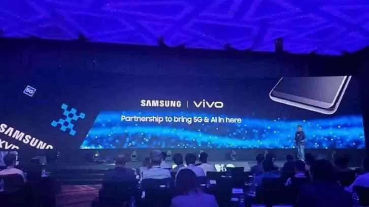 Vivo lança um telefone com o chipset Exynos 980 5G, confirma executivo