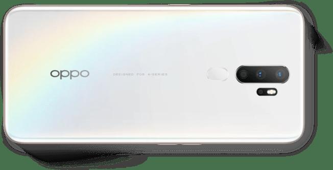 Câmeras OPPO A5 2020