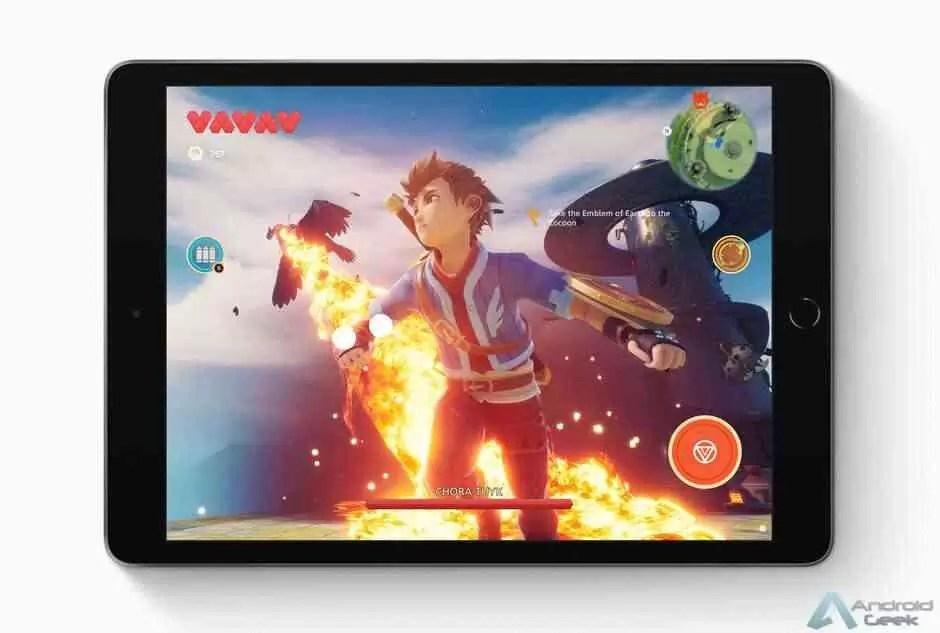 Apple anuncia novo iPad de US $ 329 com maior tela Retina