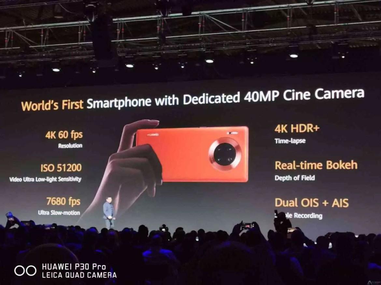 CEO da Huawei aborda as limitações do Mate 30 após evento 1
