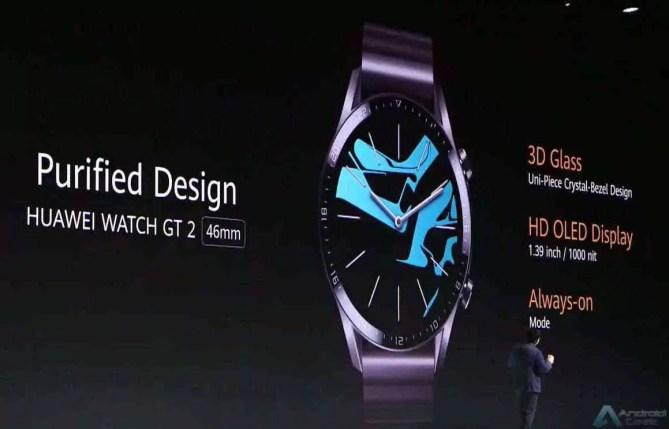 Huawei anuncia um novo e elegante Huawei Watch GT 2, e FreeBuds 3 2