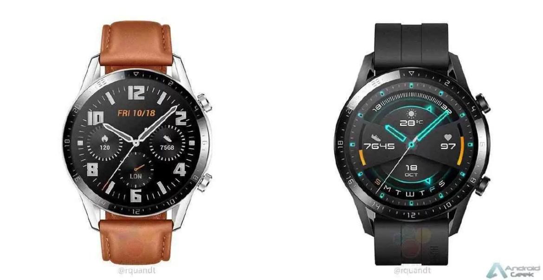 Huawei Watch GT 2 revelado com molduras menores e bateria maior 1