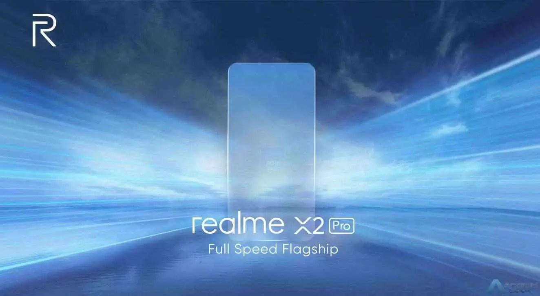 Emblemática velocidade máxima do Realme X2 Pro