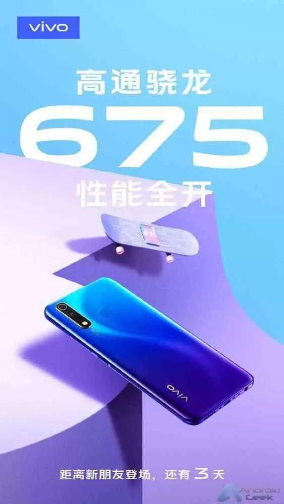 Vivo novo smartphone Snapdragon 675 em breve 2