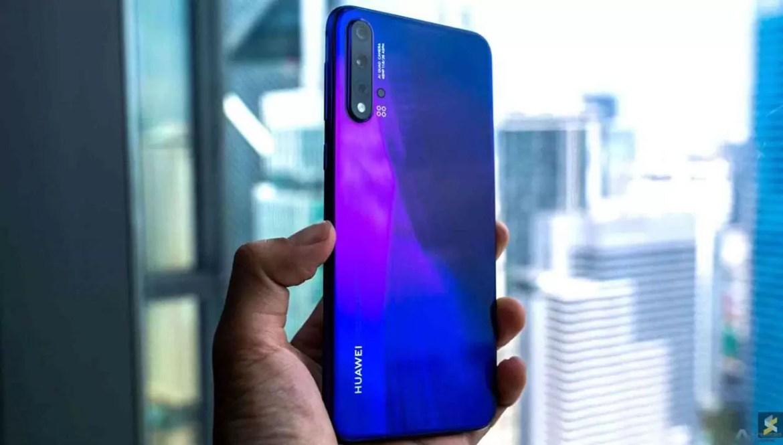 Huawei Nova 6 recebe certificação 3C, com carregamento rápido de 40W 1