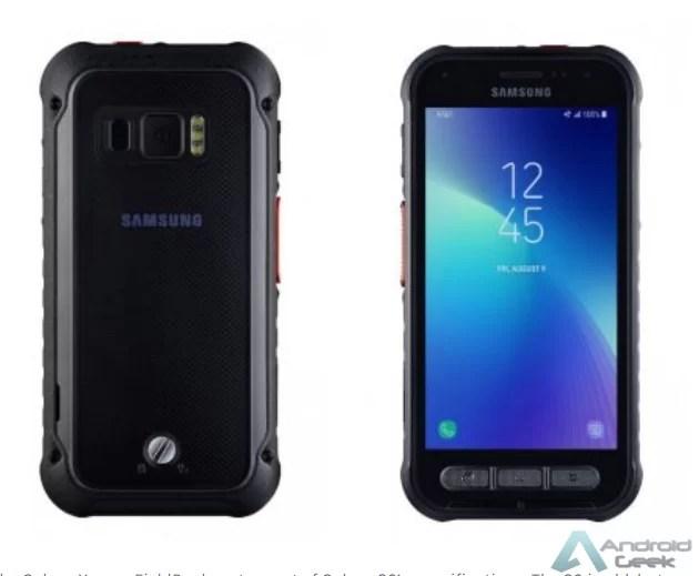 O smartphone robusto Galaxy Xcover FieldPro é apresentado com o Exynos 9810 2