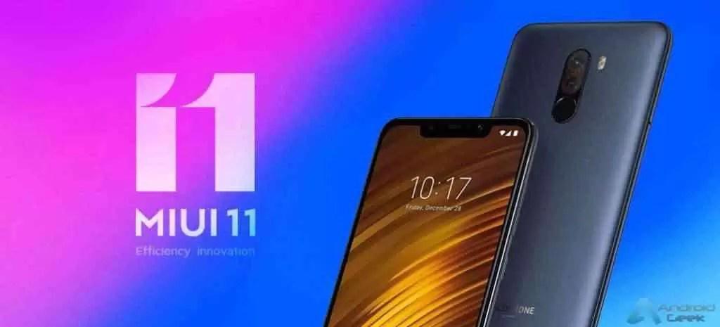 Pocophone F1 está a receber atualização estável da MIUI 11; ainda baseado no Android 9 1