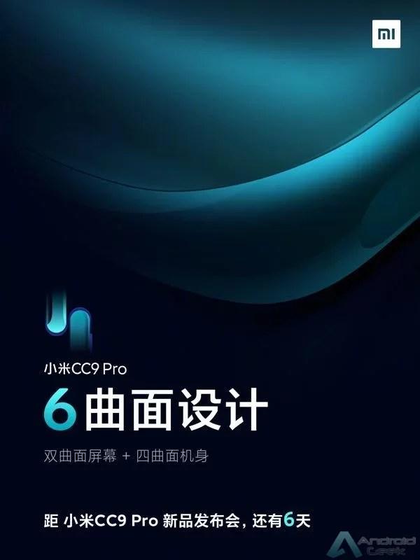 Xiaomi CC9 Pro confirmado com bateria de 5.260mAh, carregamento rápido de 30W 3