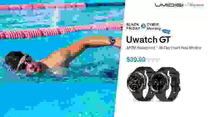 UMIDIGI Uwatch GT inicia venda global com desconto impressionante nesta Black Friday / Cyber Monday 1