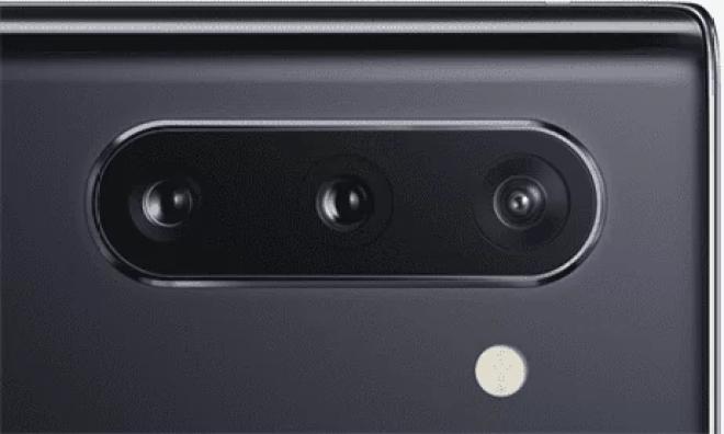 Câmera Samsung Galaxy Note 10
