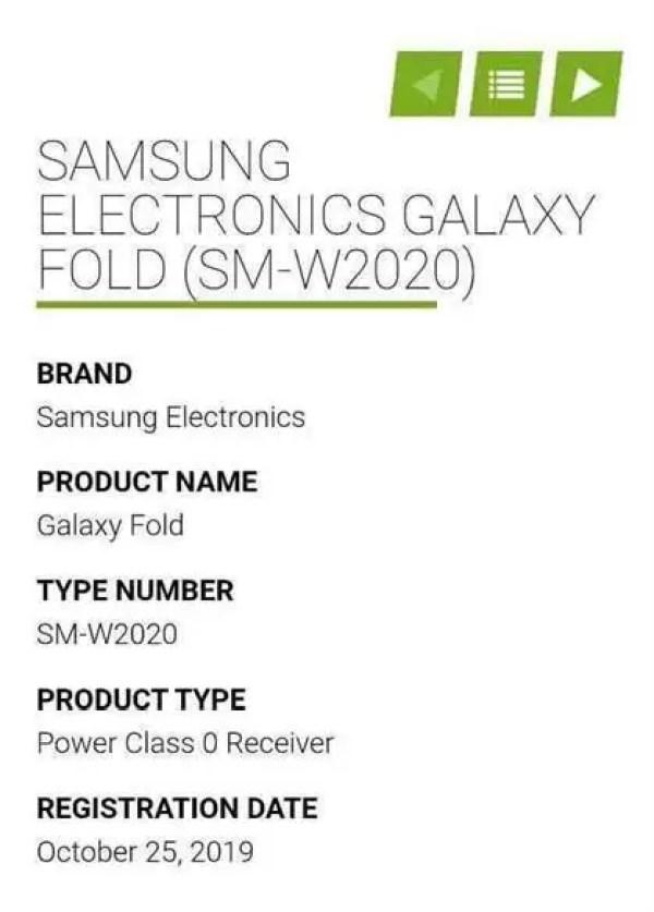 Telefone dobrável Samsung W20 5G chega a 19 de novembro 1