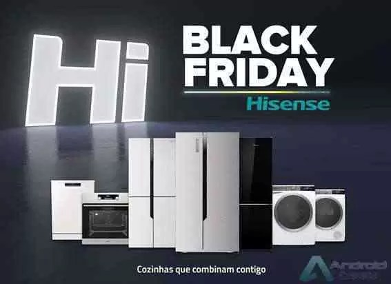 Qualidade a preços competitivos: já conhecem as promoções incríveis da Hisense para a Black Friday 1