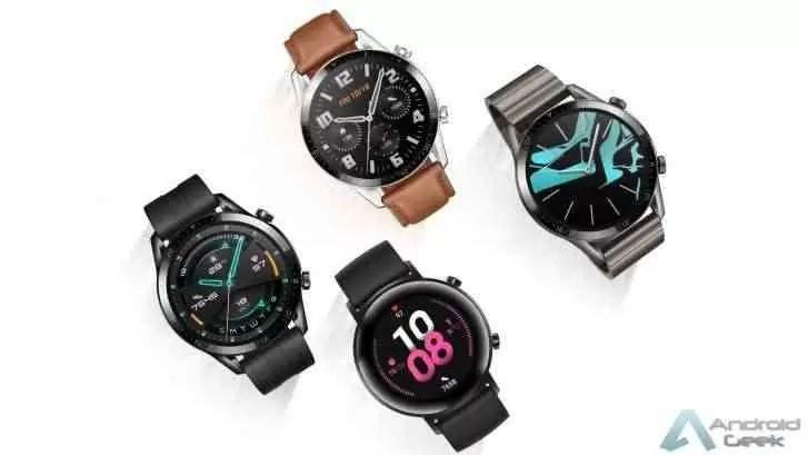 Huawei Watch GT 2 será vendido através da Amazon e Flipkart na Índia