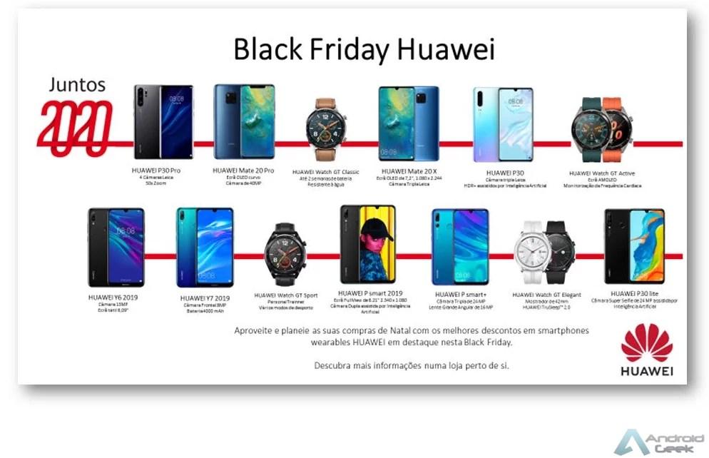 Black Friday Huawei! São mais de uma dezena de equipamentos Huawei com descontos misteriosos 1