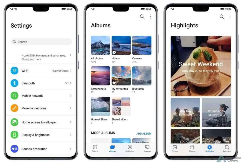 EMUI 10: Aqui estão todas as alterações e melhorias na interface da Huawei 1