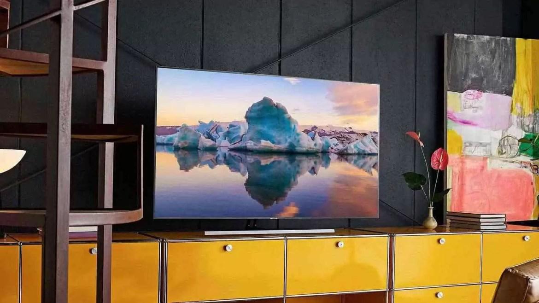 """Samsung lança a primeira TV """"True Borderless"""" na CES 2020 1"""