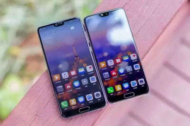 8 telefones antigos da Huawei