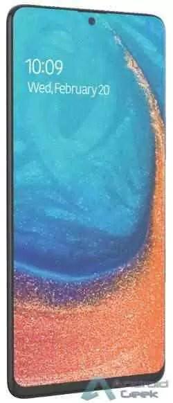 Renderização do Samsung Galaxy A71 confirma o visual do Note10