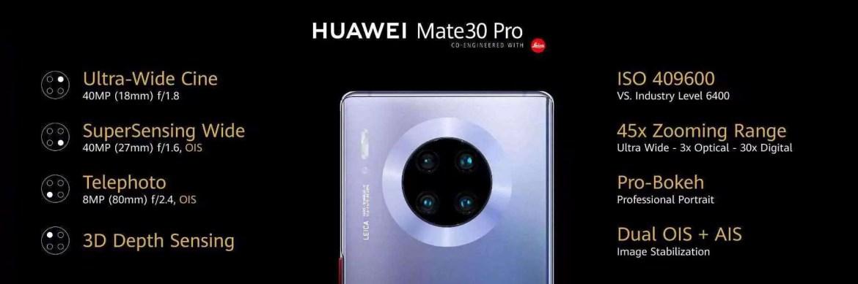 Huawei Mate 30 Pro 5G recebe actualizações com correções e melhoria de recursos 2