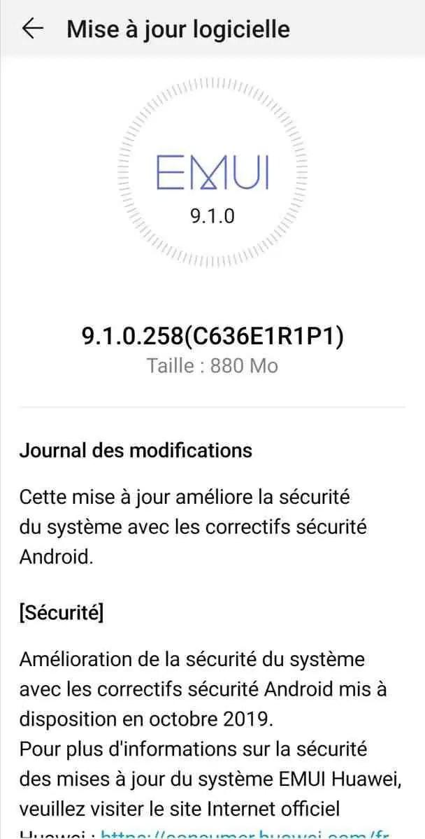 Huawei Nova 3 e Nova 3i começam a receber patch de segurança de outubro, EMUI 10 não confirmada 1