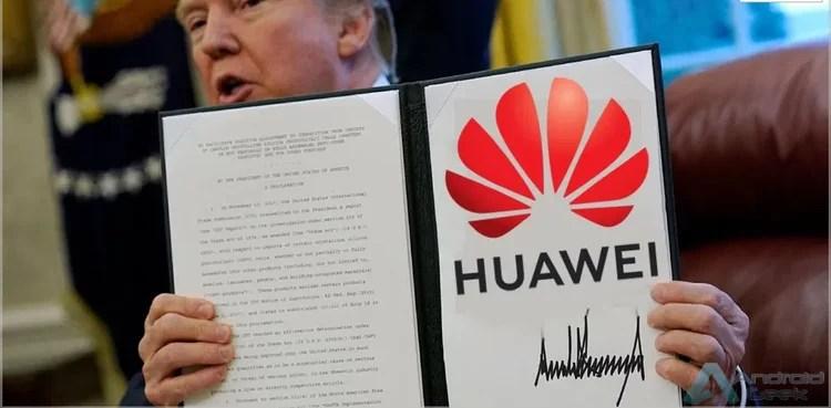 Huawei usará menos componentes da Samsung devido às proibições dos EUA 1