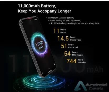 Oukitel K13 Pro é o Smartphone de 11000mAh por US $ 169,99 na Banggood 2