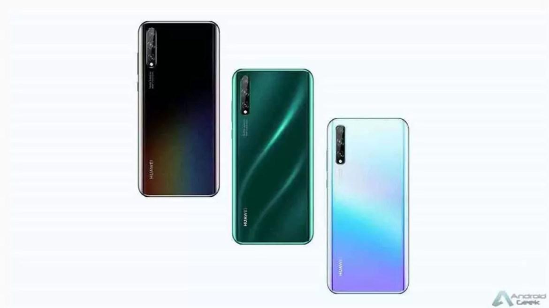 Novas versões do Huawei Enjoy 10S estarão à venda a partir de 5 de dezembro 1
