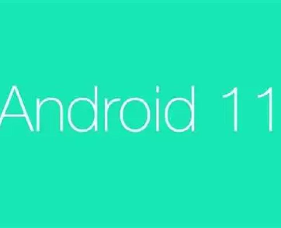 Visualização do programador do Android 11