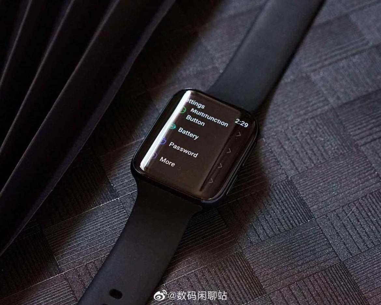 OPPO Watch aparece em imagem real 1