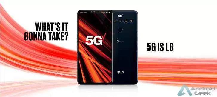 A LG venderá apenas flagship 5G premium em NA e na Europa, mudará a produção de gama média para ODMs